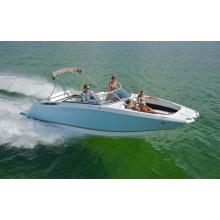 2015 schönes aufblasbares Boot der blauen Farbe des niedrigen Preises D-Form mit CER China