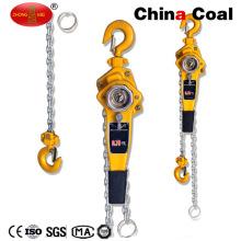 Polipasto de bloque de cadena de construcción de palanca de 1.5 toneladas