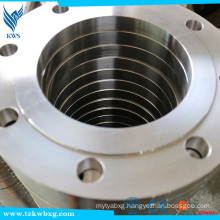 ASTM 1.6Mpa DN125 316 Stainless Steel FF Flanges