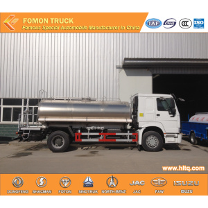 Sinotruk 15000L 3000gallons stainless steel washing truck