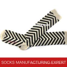 100% Baumwolle der Frau Coloful Tube Sock (UBM1050)