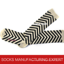 100% Cotton of Woman Coloful Tube Sock (UBM1050)