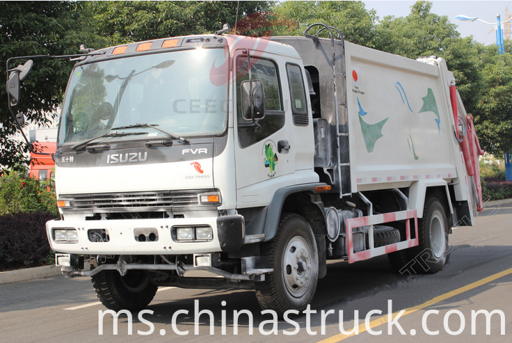 ISUZU rubbish compression truck