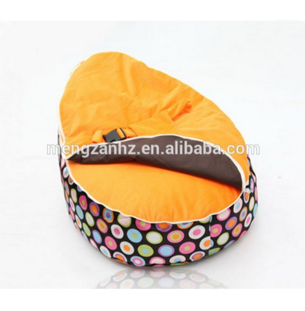 Safety baby soft bean bag bed