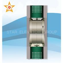 Elevador de observación panorámico al aire libre del vidrio de China Supplier