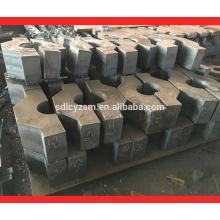corte do quadro da placa de aço