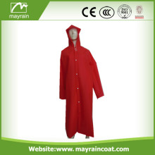 Imperméable en PVC de Lady rouge