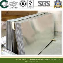 Placa de acero inoxidable 304L y hojas