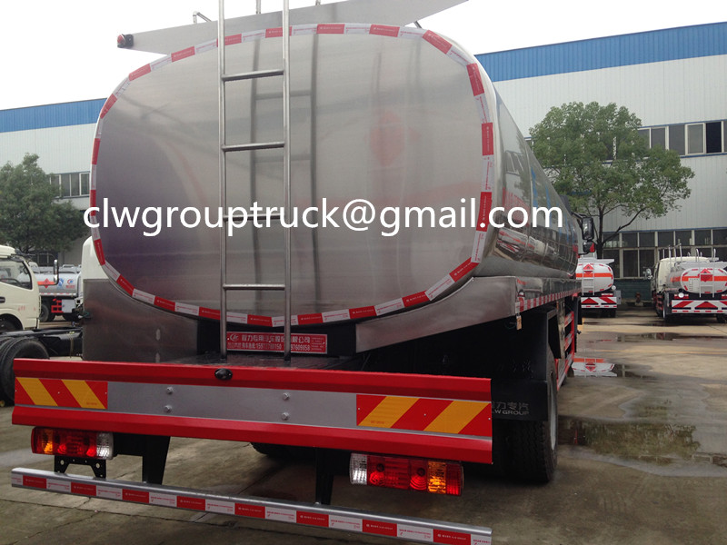 FAW 6X2 16000Litres Fresh Milk Transport Truck