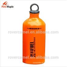 Fogo a bordo portátil caminhadas garrafa de combustível ao ar livre de garrafa de armazenamento de combustível