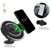 Qi Magnetic Wireless Car Charger with Holder