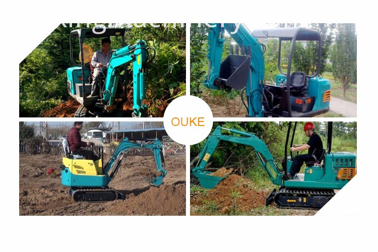 Best 1.5 Ton 360 Degree Rotation Mini Excavators