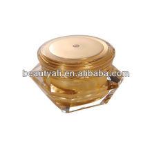 3ml 5ml 10ml petit poteau en plastique échantillon cosmétique mini pots acryliques peinture couleur oeil crème jar
