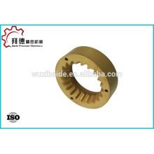 OEM precisão aço inoxidável / cobre bomba artes cnc usinagem / torneamento
