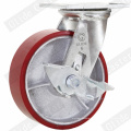 Heavy Duty Iron Core PU ruedas giratorias (G4209)