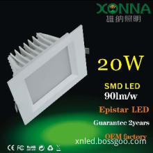 Aluminum Die Casting smd led square down light XN-TD0820
