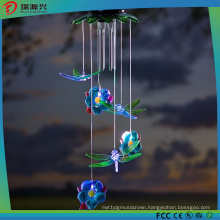Solar Dragonflies Windchime for Gardon, Party and Festival Decoration
