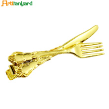 Factory source manufacturing for Collar Pin Customized Alloy Gold Collar Clip supply to India Exporter