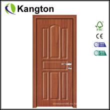 Puerta de PVC MDF de alta calidad para la habitación (puerta de PVC MDF)