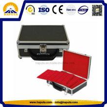 Boîtier en aluminium portable pour pièces de monnaie (HO-1002)