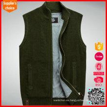 Chaleco militar sin mangas vendedor caliente del suéter del combate del uniforme del ejército