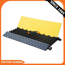 Dual Rubber & Plastic Floor Cable Trench Cover