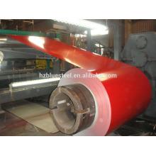 Bobine enroulée galvanisée en couleur prépainée, GI PPGI PPGL GL Tole Roll Bobine, bobine en feuille de métal à vendre