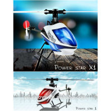 WLtoys V977 teledirigido Nano juguetes 2.4G 6 CH SOLAS MINI helicóptero del drone de RC de las CUCHILLAS CON el regulador de la pantalla del LCD para la venta