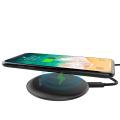 Charge rapide sans fil 10w pour iPhone, forme ronde, chargeur sans fil extra-plat