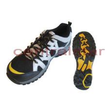 Zapatos de malla calientes de la PU para caminar de la moda (HS006)