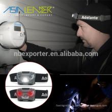 4 Beleuchtungsmodi 100% Bright- 50% Bright-Blinklicht-Red Light Camping Scheinwerfer
