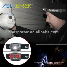With 1200mAh Li-Polymer 4 Hours USB Fully Charged CREE 5W LED Headlamp Rechargeable