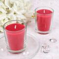 200g Plant cera velas perfumadas a granel com vela jarra de vidro