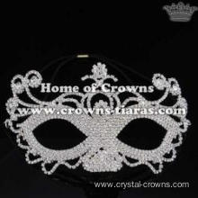 Unique Rhinestone Fancy Ball Mask