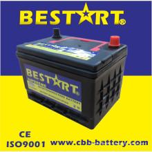 Bateria livre do carro da manutenção acidificada ao chumbo da qualidade do RUÍDO 58500mf de 12V50ah