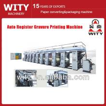 Máquina de impressão do rotogravure do filme do registro BOPP auto