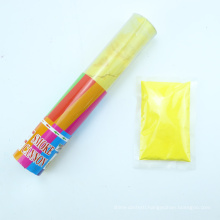 China Novelties Confetti Cannon Holi Powder Corn Color Smoke Cannon
