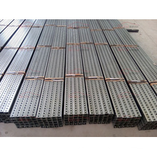 Construction Square Galvanized Steel Pipe for Telescoping Support