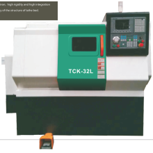 CNC Tilted-Bed Turning Machine