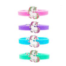 Pulseiras de borracha pulseiras de silicone de cor sólida
