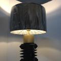 Iluminación de tabla de la habitación del hotel del estilo único que enciende la lámpara del pedestal