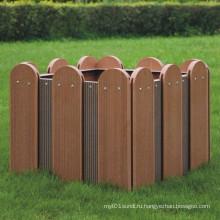 Высококачественная деревянная пластиковая композитная / WPC цветочная коробочка 600 * 600 * 475