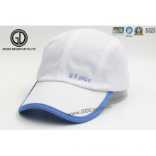Fashion White Sports Golf Women′s Hat and Golf Cap