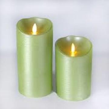 lilin tunggak klasik flameless luminara menakjubkan