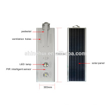 7-9m Street Pole Integrated All In One Solar LED Street Lamp Light