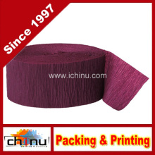 Crepe Paper Burgundy Party Streamer (420045)