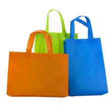 Eco friendly non woven foldable supermarket folding reusable grocery shopping bag
