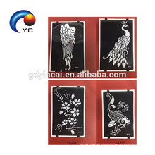 Glitter Tattoo Stencil Drawing For Painting Temporary Henna Stencils