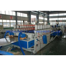 380V WPC Board Production Line , Wood Plastic Composite Mac