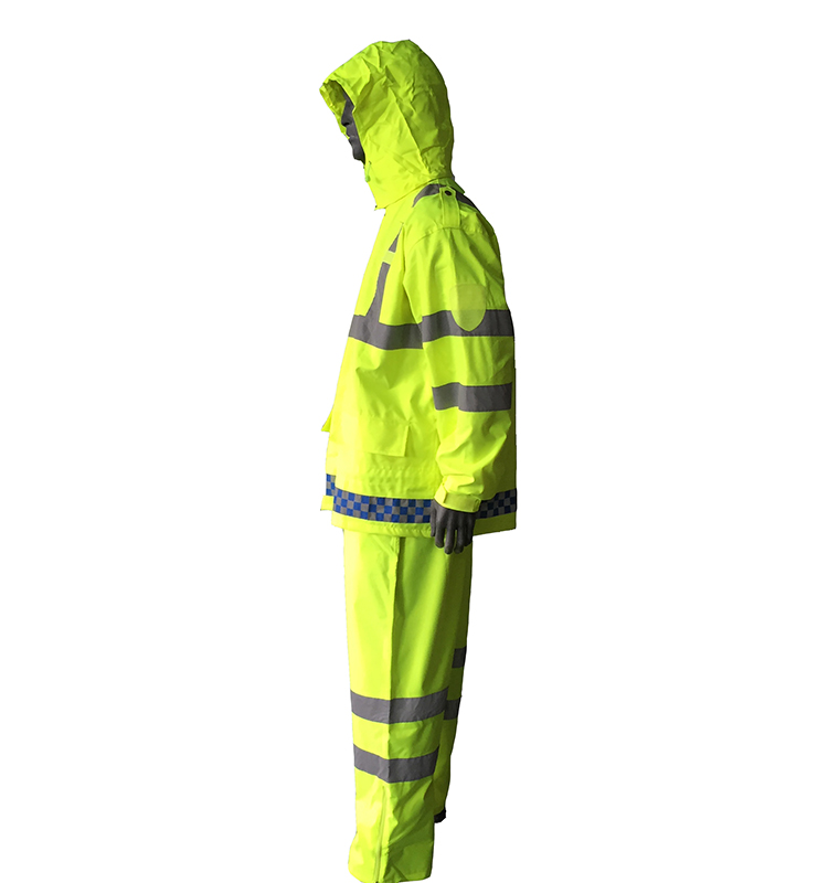 roadway safety traffic jacket
